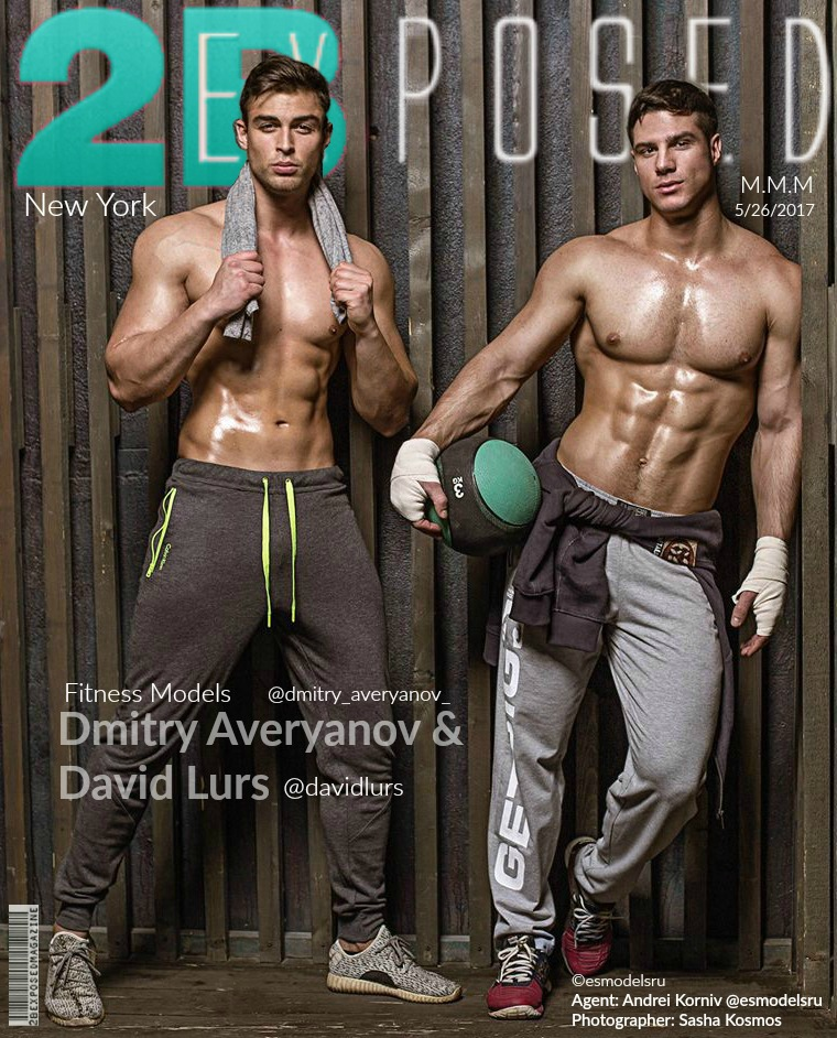 Dmitry Averyanov, David Lurs, Photo by Sasha Kosmos